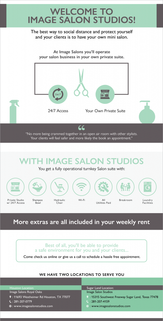 Salon Studio Infographic